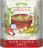 Grandpa's Favorite Beef Barley Slow Cooker Soup